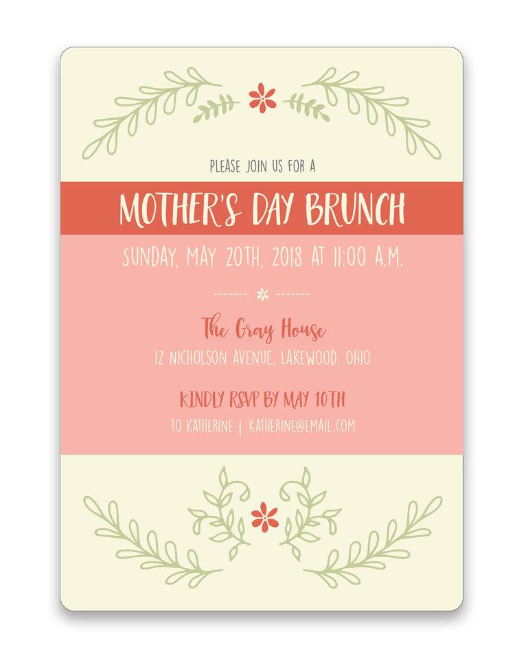 mother s day brunch invitation foreword press design