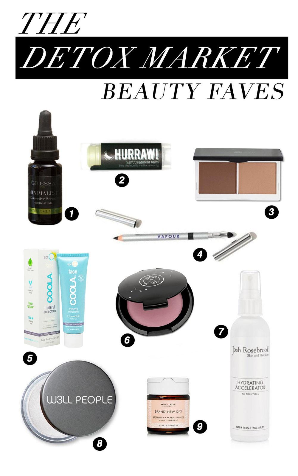 Detox Market Beauty Essentials