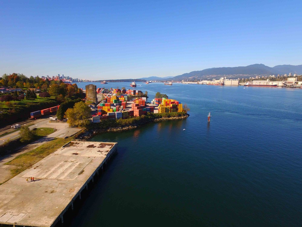 Secure container terminal Port of Vancouver