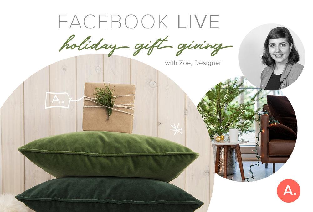 Facebook Live Event Promotion.