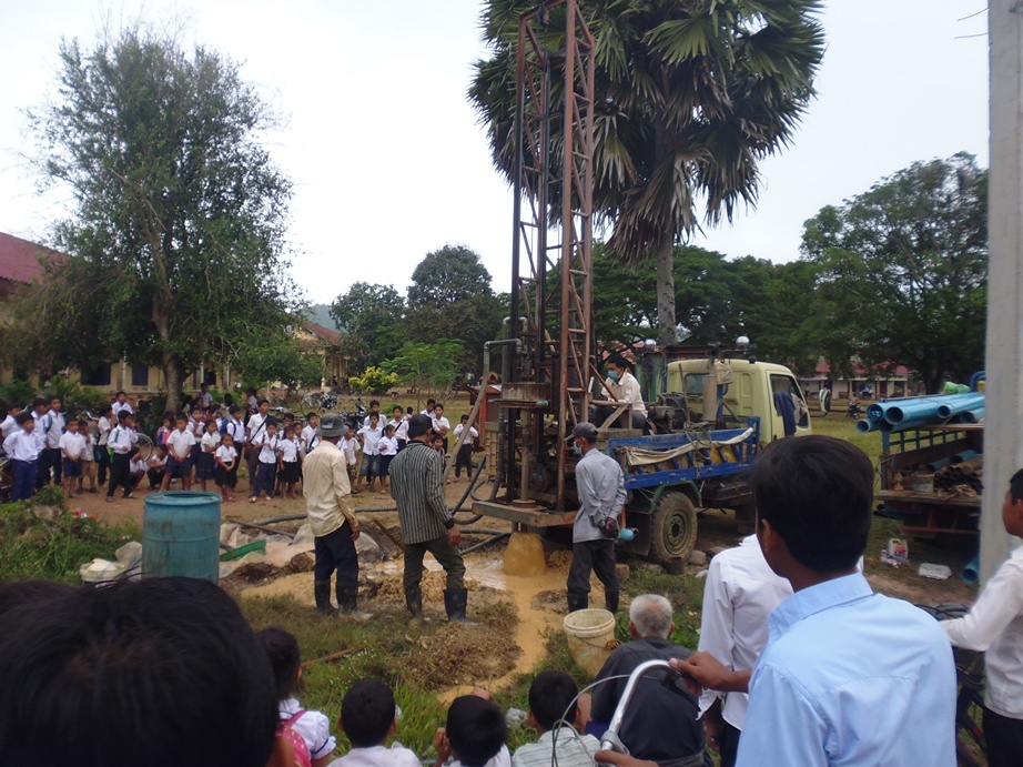 Drilling the new well