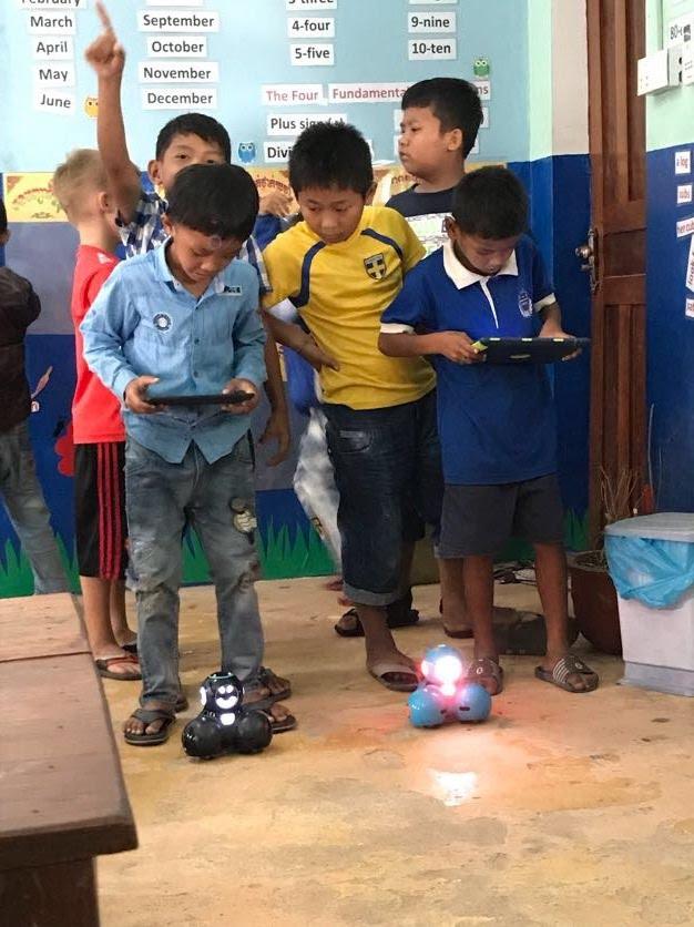 Robotics at the Kep international School