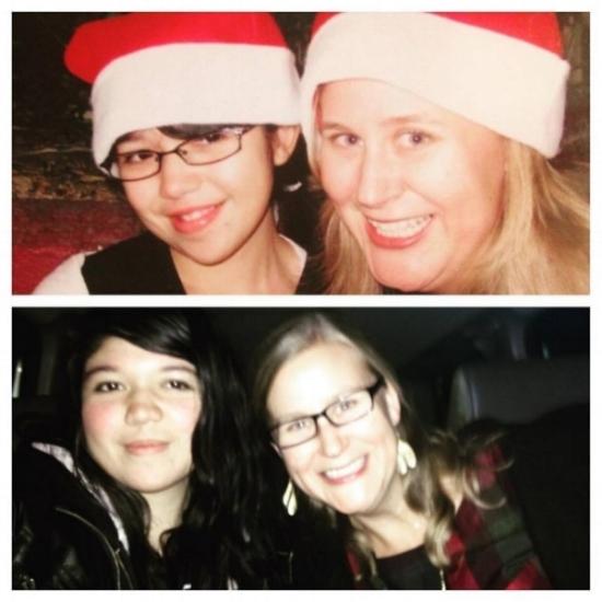 Christmas 2008 & Christmas 2016