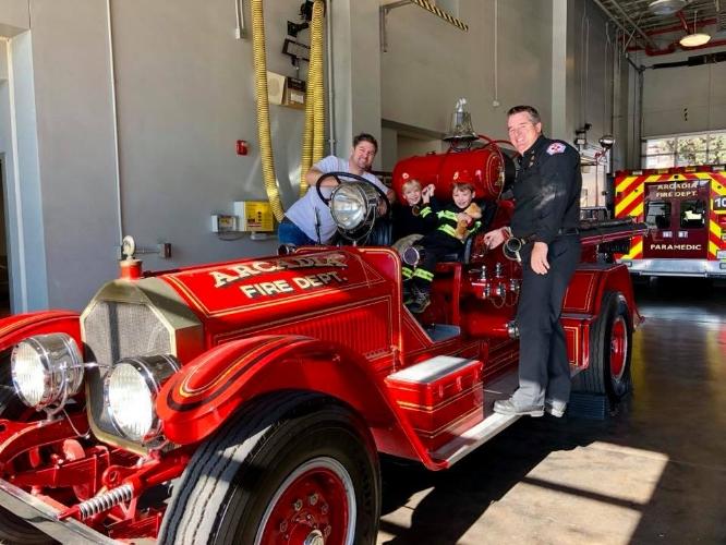 Fire Truck Visit Jon Ethan Barry Henry.jpg