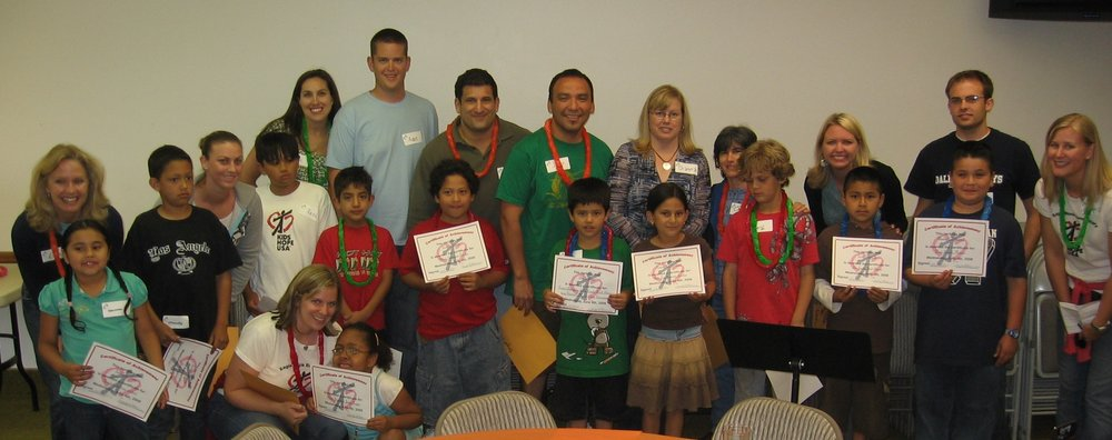 Program participants, End of Year Awards Ceremony 2008