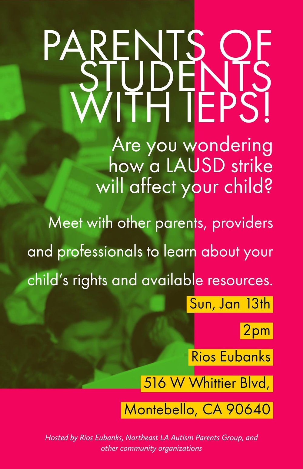 If your student has an IEP consider attending this meeting to stay informed.