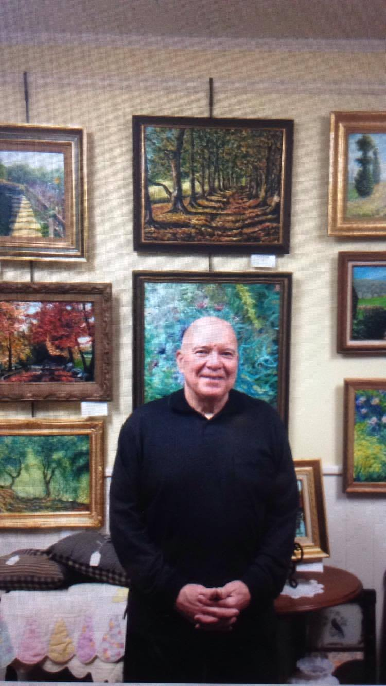 - Michael Hough, Featured Local Painter