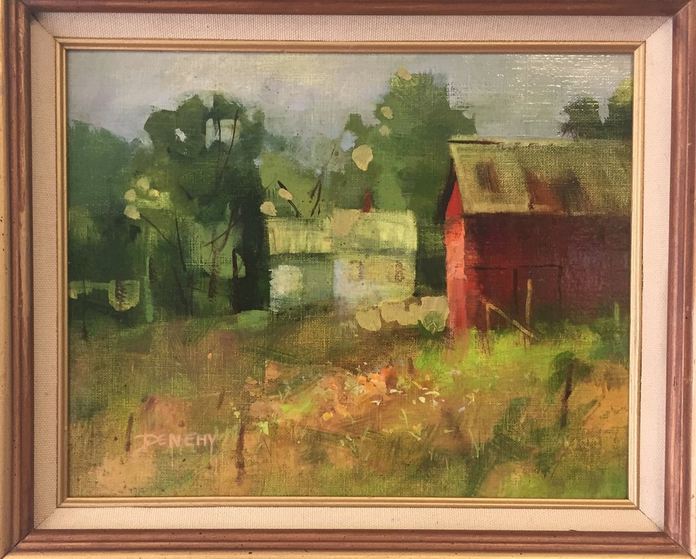 Plein Air, Painted by Jo-Ann Denehy, $175
