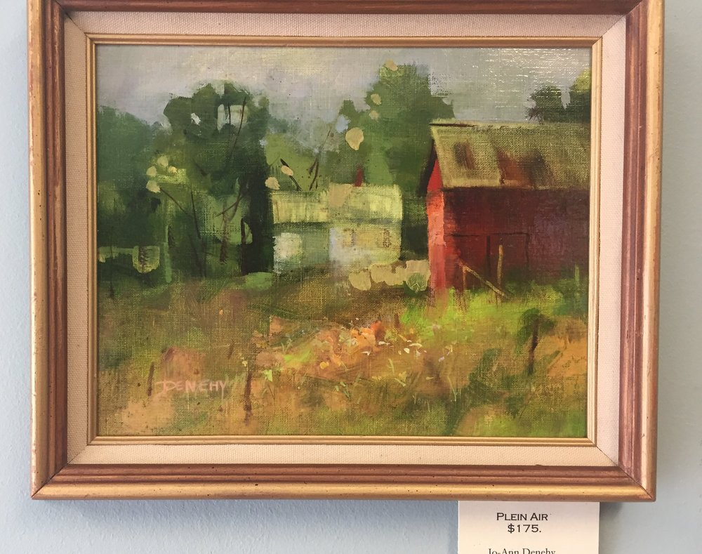 Plein Air by Jo-Ann Denehy at The Daylily in South Deerfield