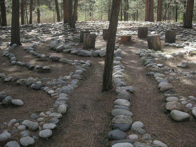 la foret labyrinth