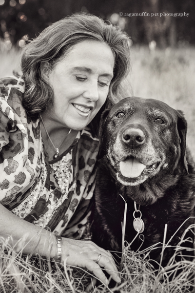 Melbourne dog photography - Lady with her Labrador