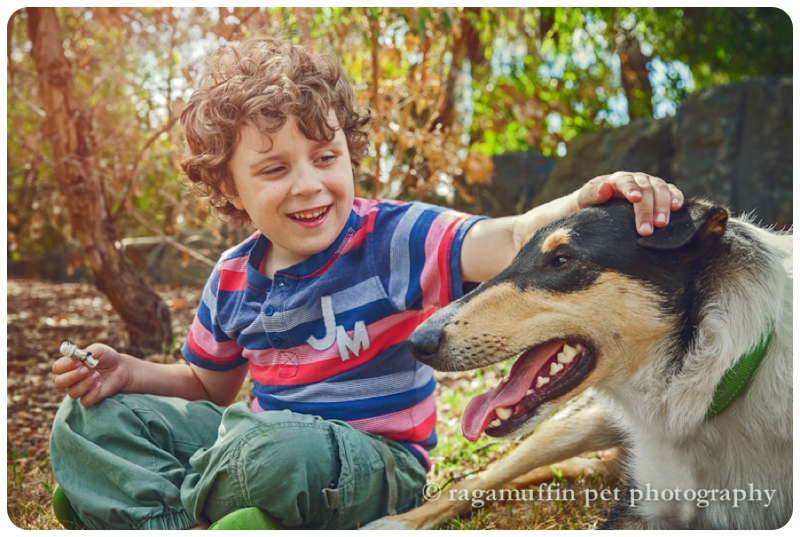 Dog and Child Photography Melbourne