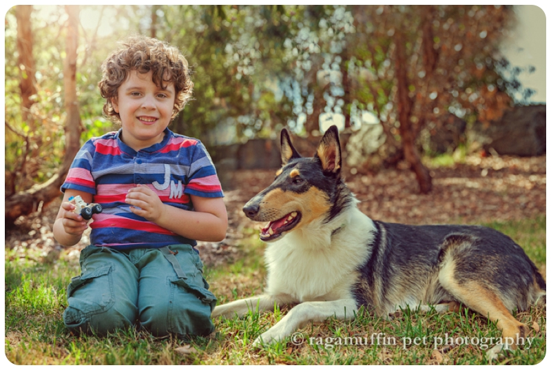 Child and Dog Photography Melbourne