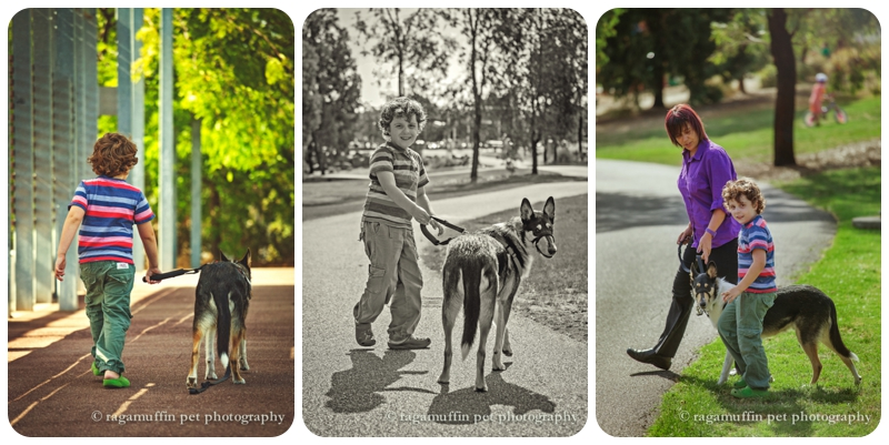 Child with Dog Photography Melbourne