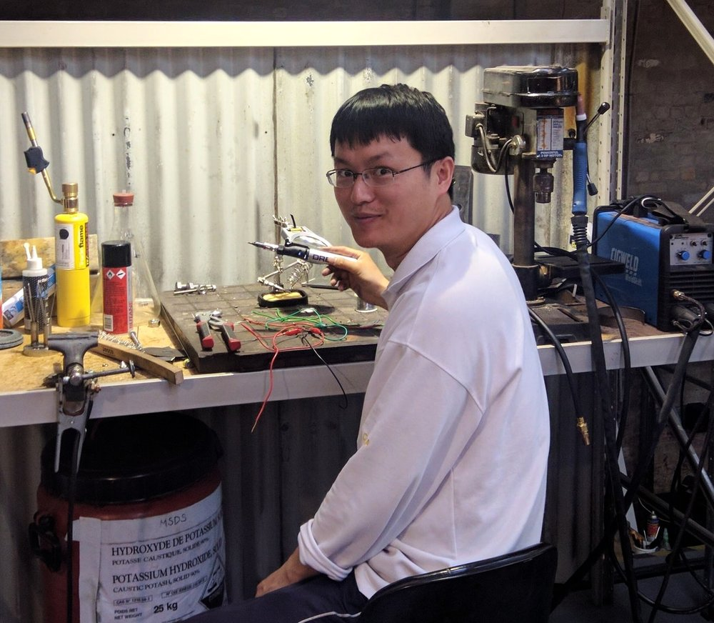 David J. Wu    Electrical Engineering   The University of Melbourne