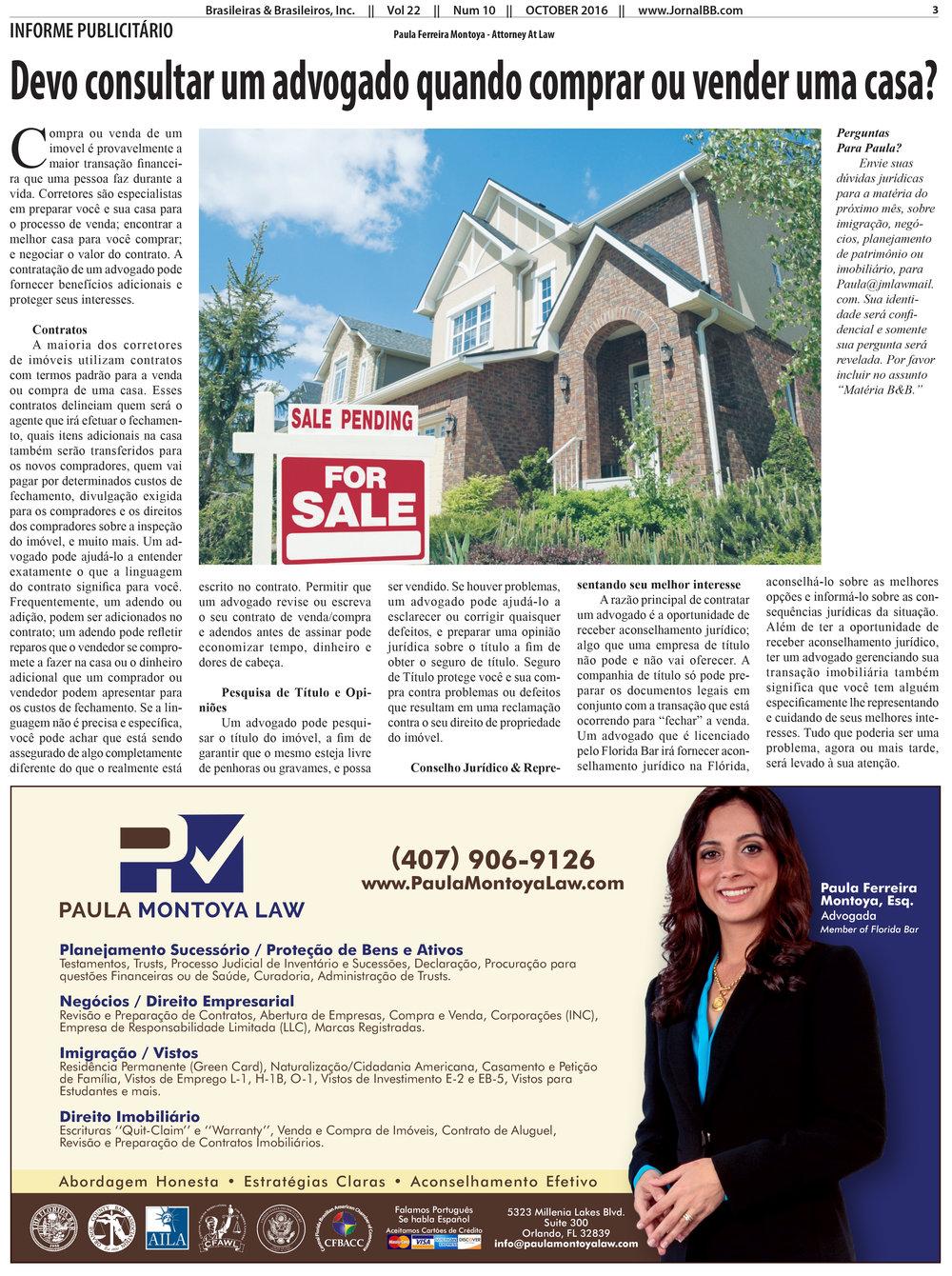 Devo Consultar Um Advogado Quando Comprar ou Vender Uma Casa?