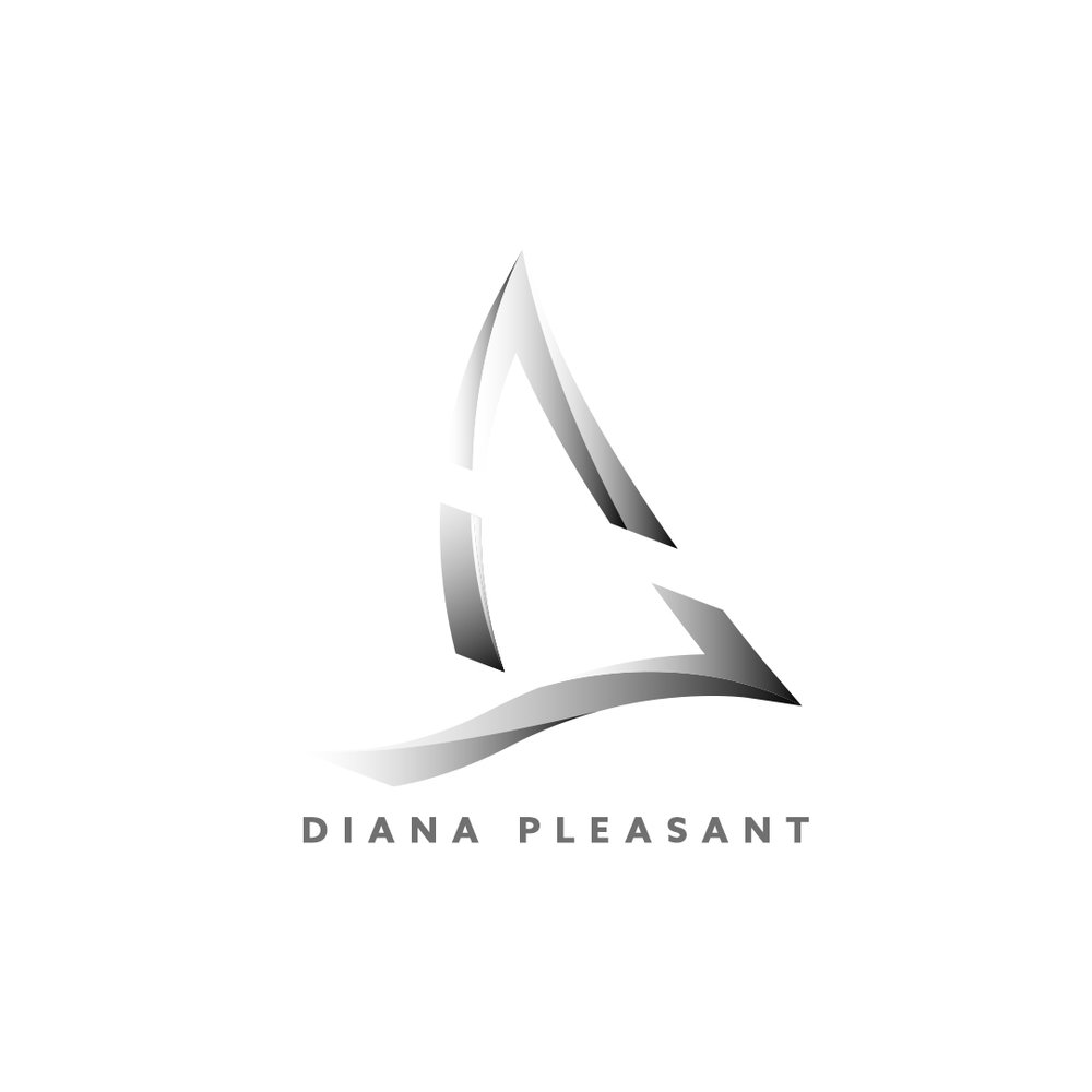 """DIANA PLEASANT"" ©   LOGO FOR   ""DIANA PLEASANT"""