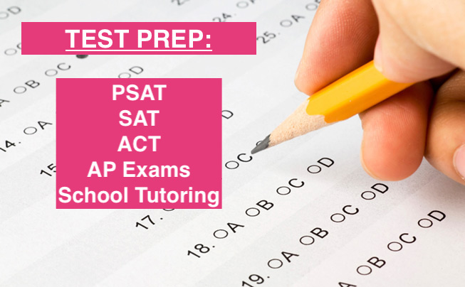 STEP 2: SAT/ SAT II/ ACT + AP                        TEST PREP   After GPA, test scores on the SAT/ ACT are the second most important factor for college admissions. Experienced tutors will help you prepare for these exams so your score is the strongest it can be. Additionally, we offer in-depth analysis on which test, the SAT or ACT, is best for you to take. Colleges have no preference, so choosing the best one for you is a  key strategy !