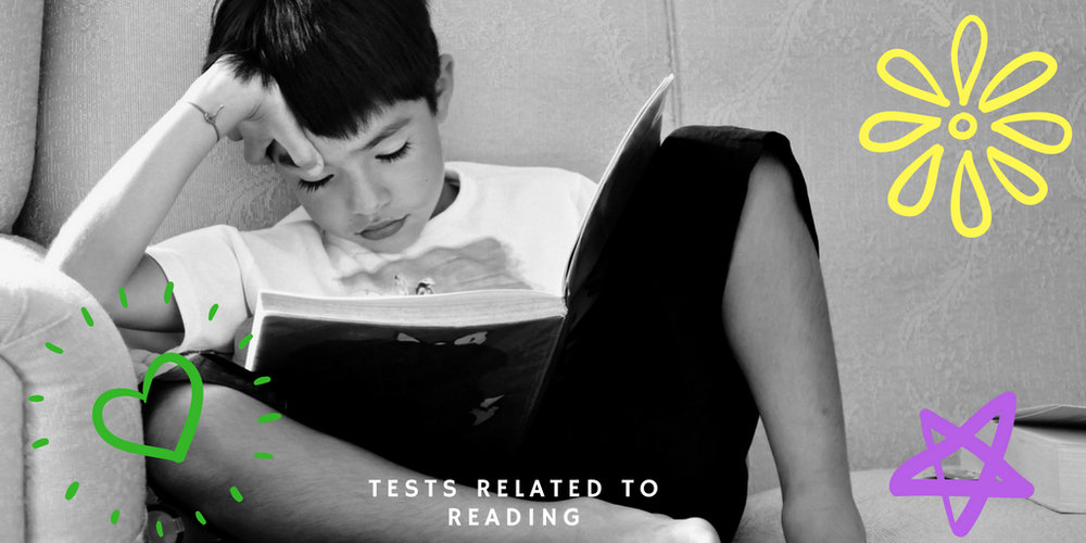 Tests related to reading.jpg