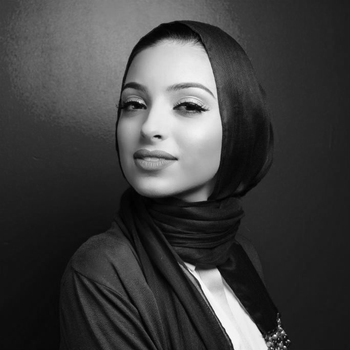 noor tagouri black and white square photo