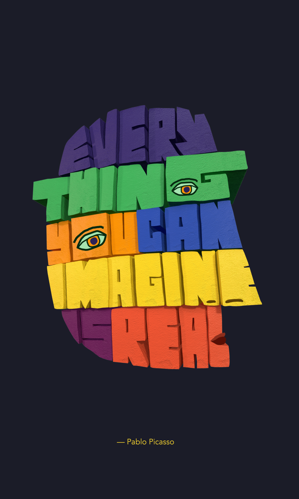 Everything you can imagine is real: Picasso