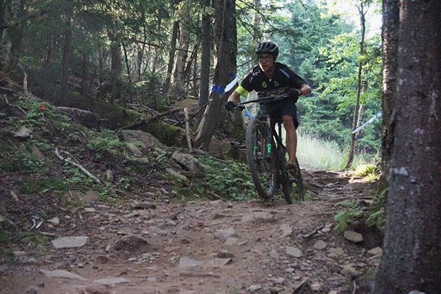 First day at showshoe mountain went well. The trails are super fun and I can't wait to kill the race this Saturday🏔 #noshortcuts  @scottusadev @scottsports @bikeonscott @srammtb @esigrips @genuineinnovations @stansnotubes @dumondtech @schwalbetires @jakroousa