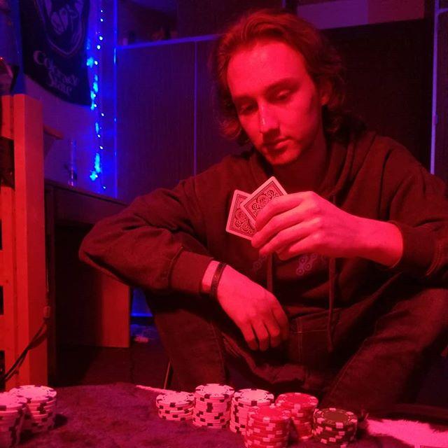 Family poker night