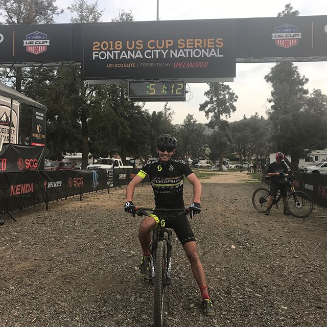 Back down in Southern California for my first Pro XCT of the season