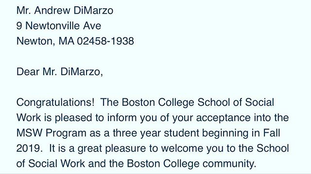 It's lit! I actually got into my reach school 😅. I can't believe it 🙏🏼🥰 ▪️ Ya boy is gonna be a clinician someday!