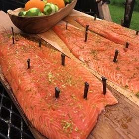 Cedar Plank Salmon - Speaks. For. Itself.