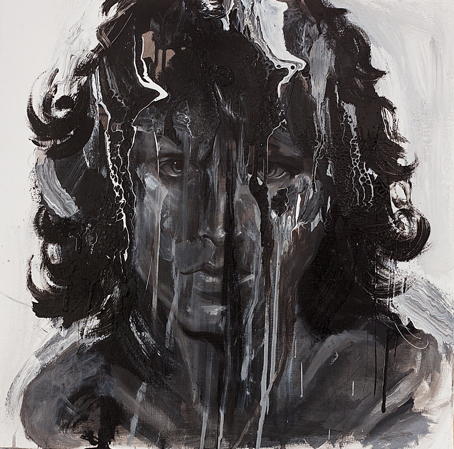 Protrait of Jim Morrison