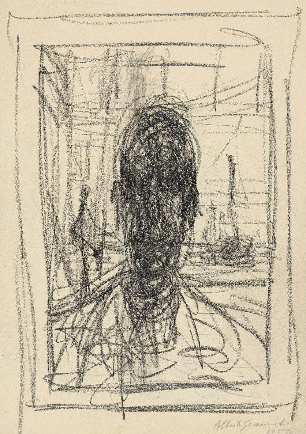 Alberto Giacometti Portrait - 1951