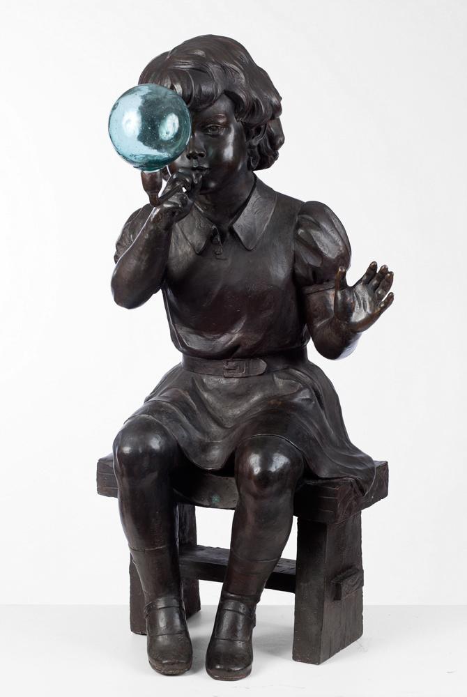 David Bromley sculpture.