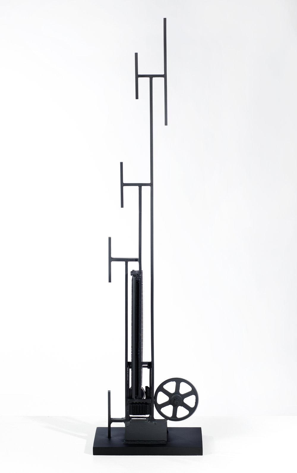 Robert Klippel sculpture.