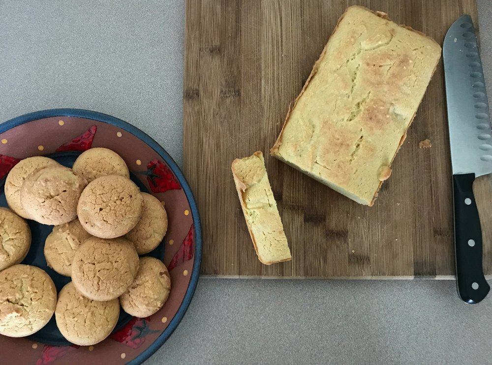 Grain Free Cashew Coconut Loaf & Muffins