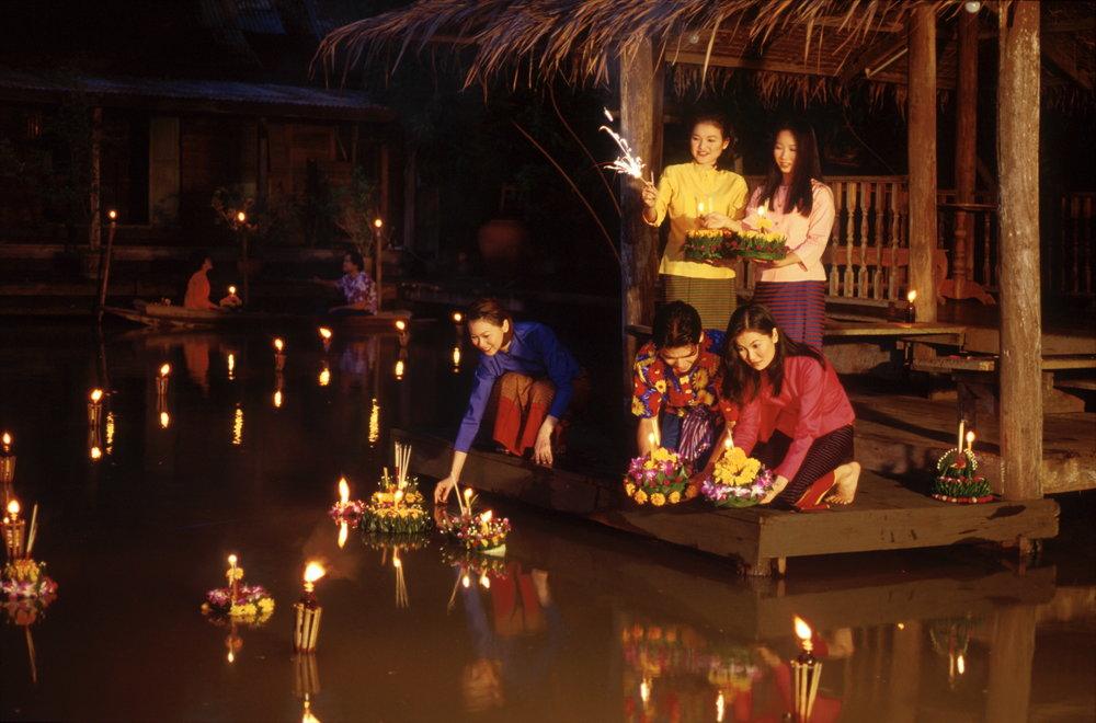loy krathong Chiang mai