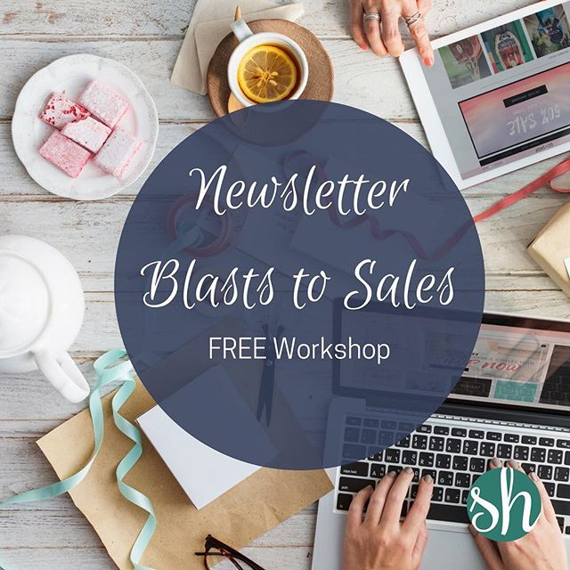 Never know what to send to your subscribers? Want to get sales while you are out playing with your kids or, even better, SLEEPING? Click the link in our profile to head over to the Successful Makers' Society where we'll be teaching next week on how to get more sales for your handmade business. Best part? You can do this all for FREE.