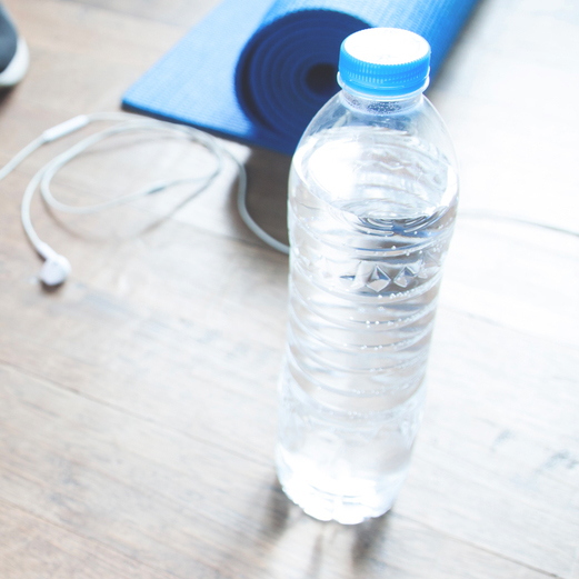 Keep hydrated with bottles of Water!