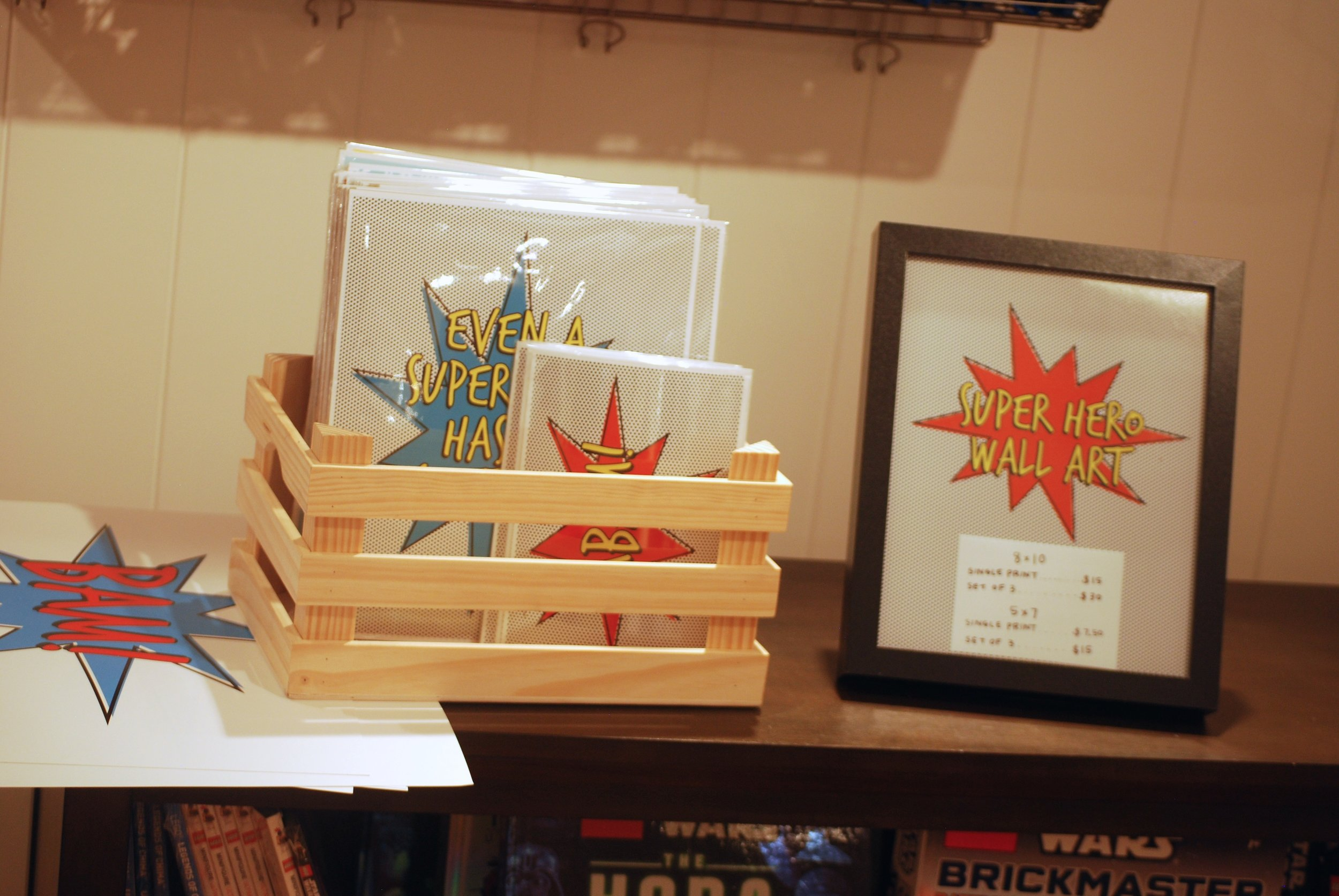 superhero kids craft at pottery barn kids