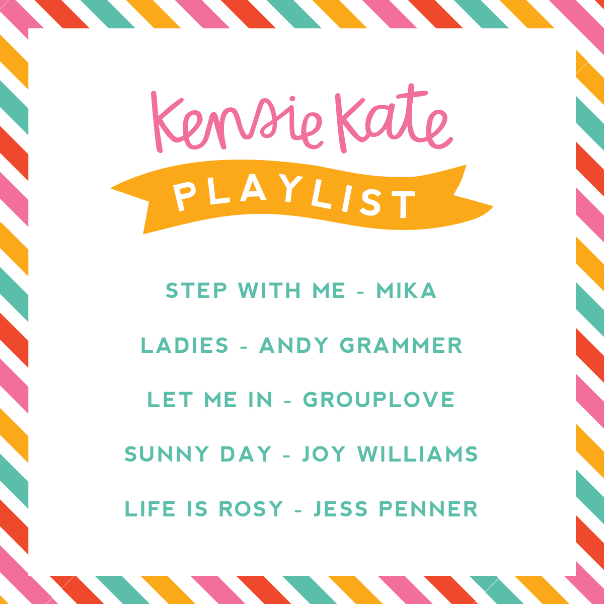 kensie kate playlist