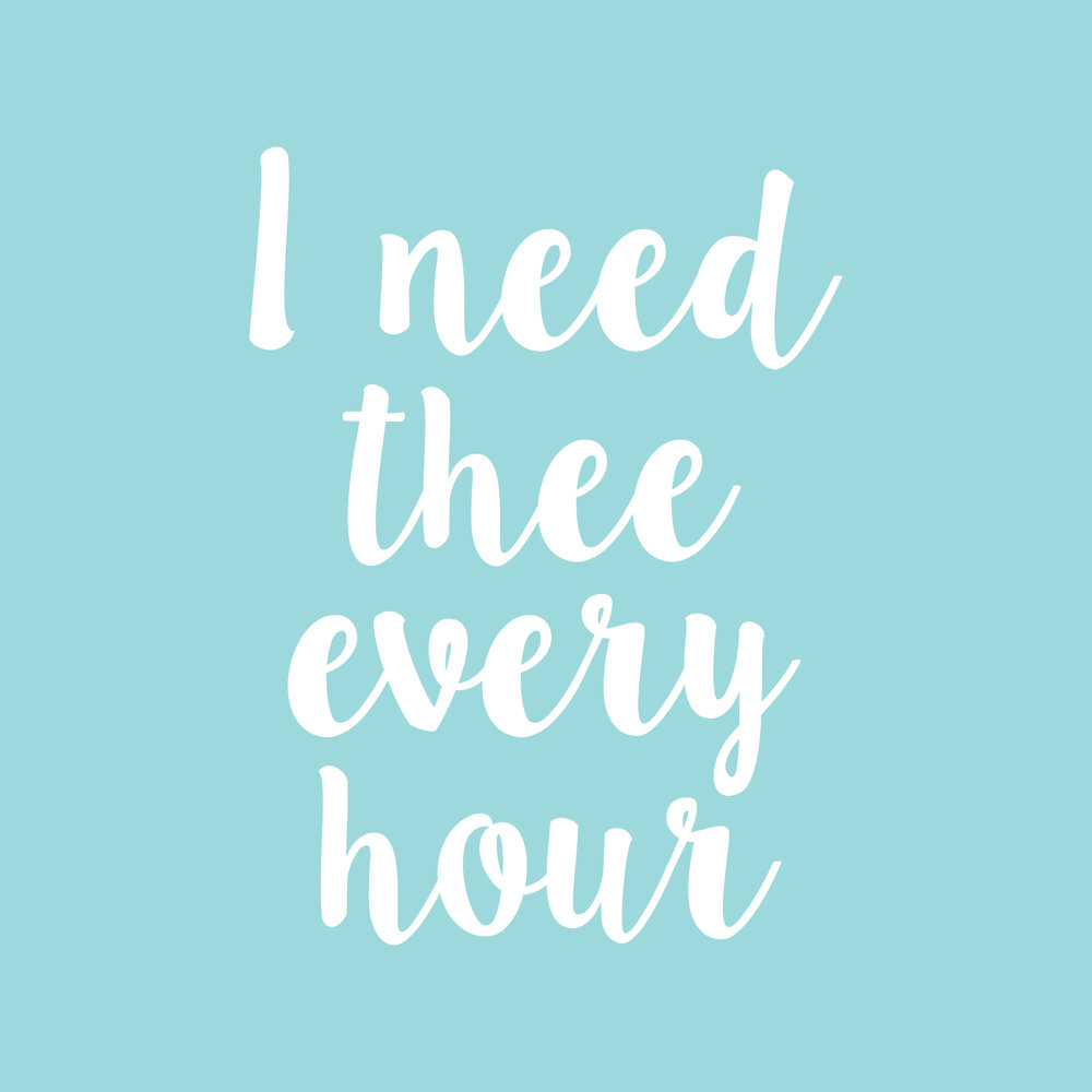 i need thee every hour-01