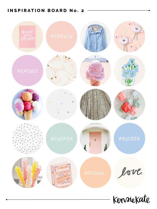 Kensie Kate Inspiration Board