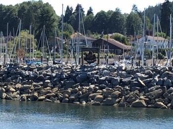 Gibsons Marina, British Columbia