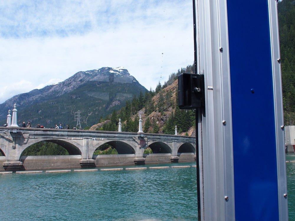 View of Diablo Dam from Boat