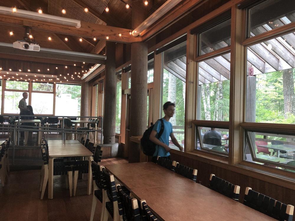 North Cascades Institute Dining Hall