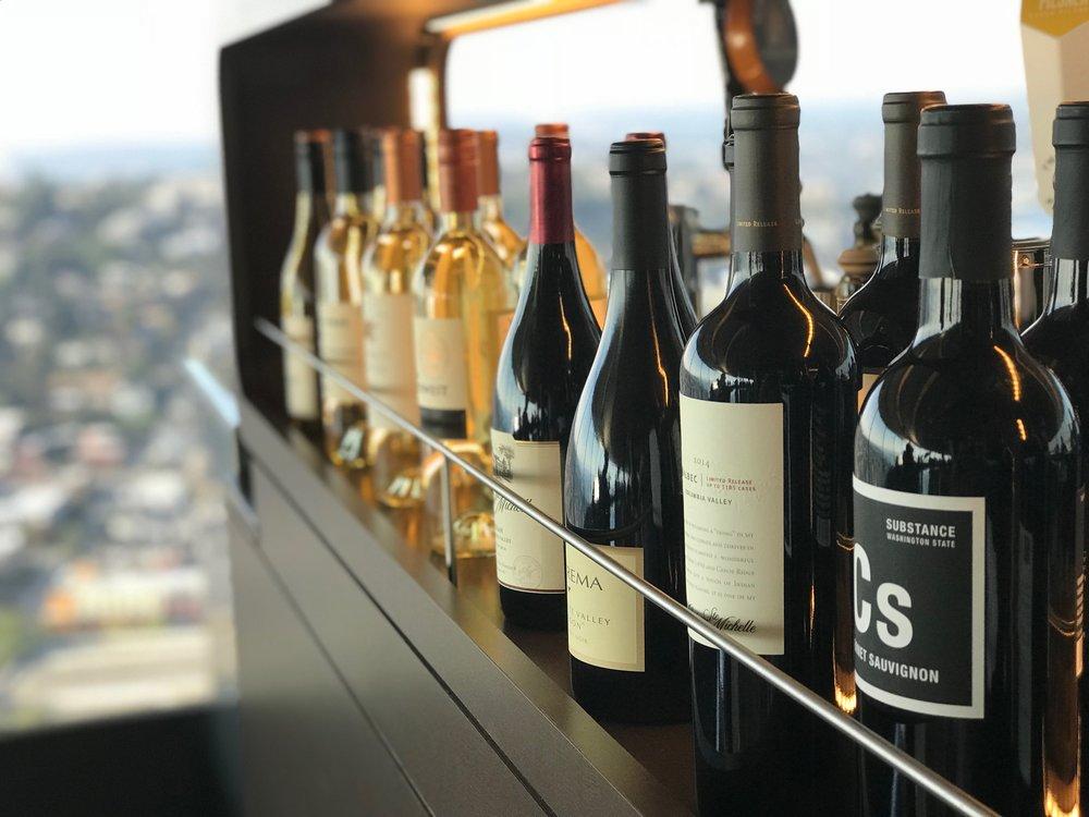 Space Needle Wine Bar