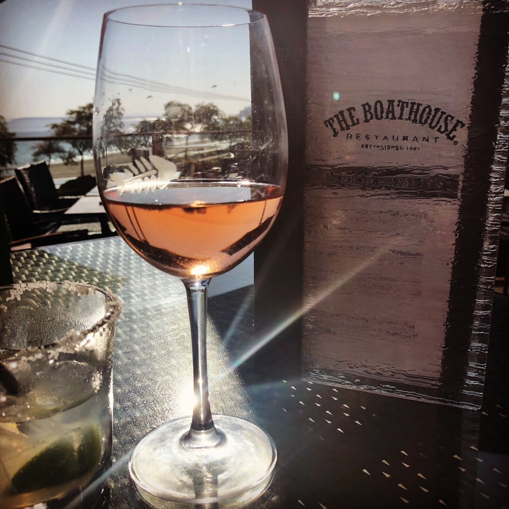 The Boathouse in White Rock beach town