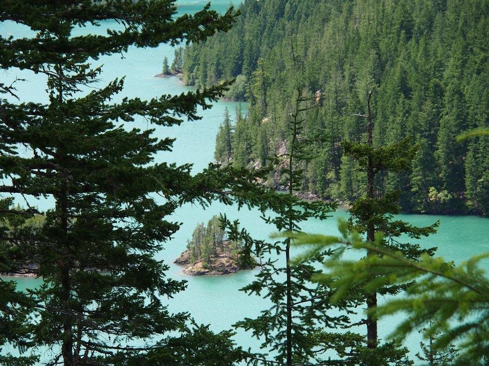 Lake Diablo, N Cascades Nat'l Park