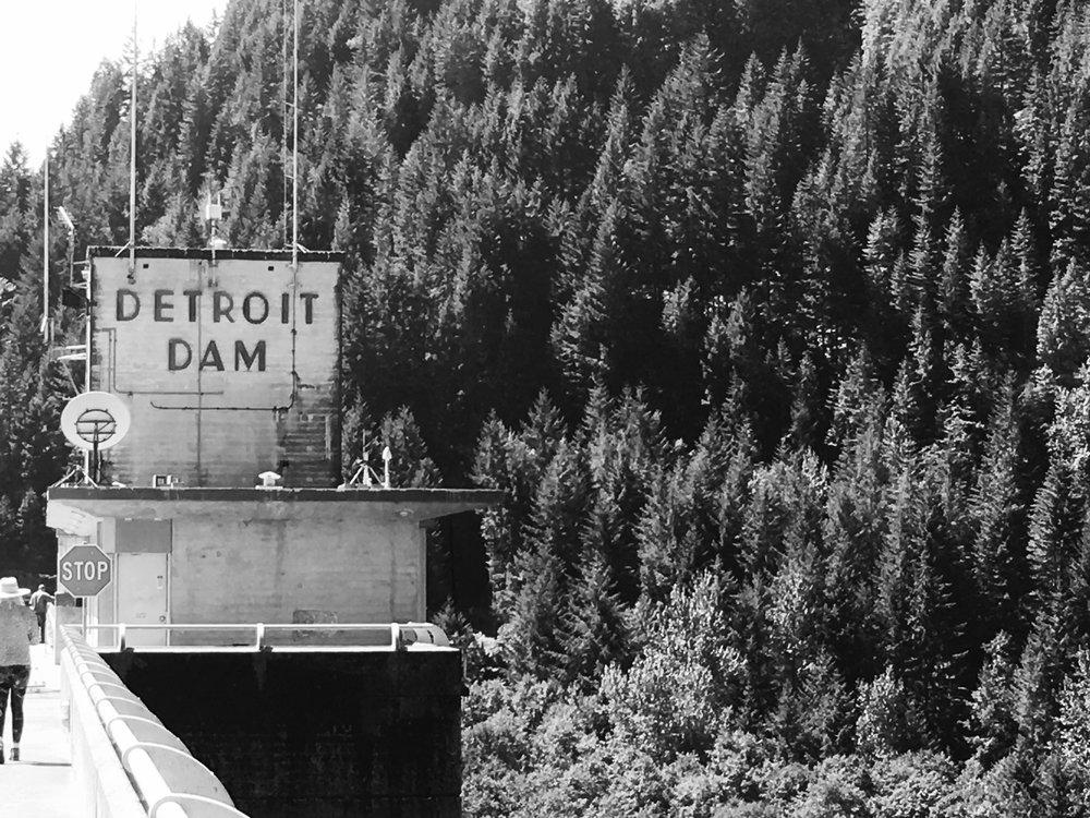 Detroit Dam, Detroit, OR