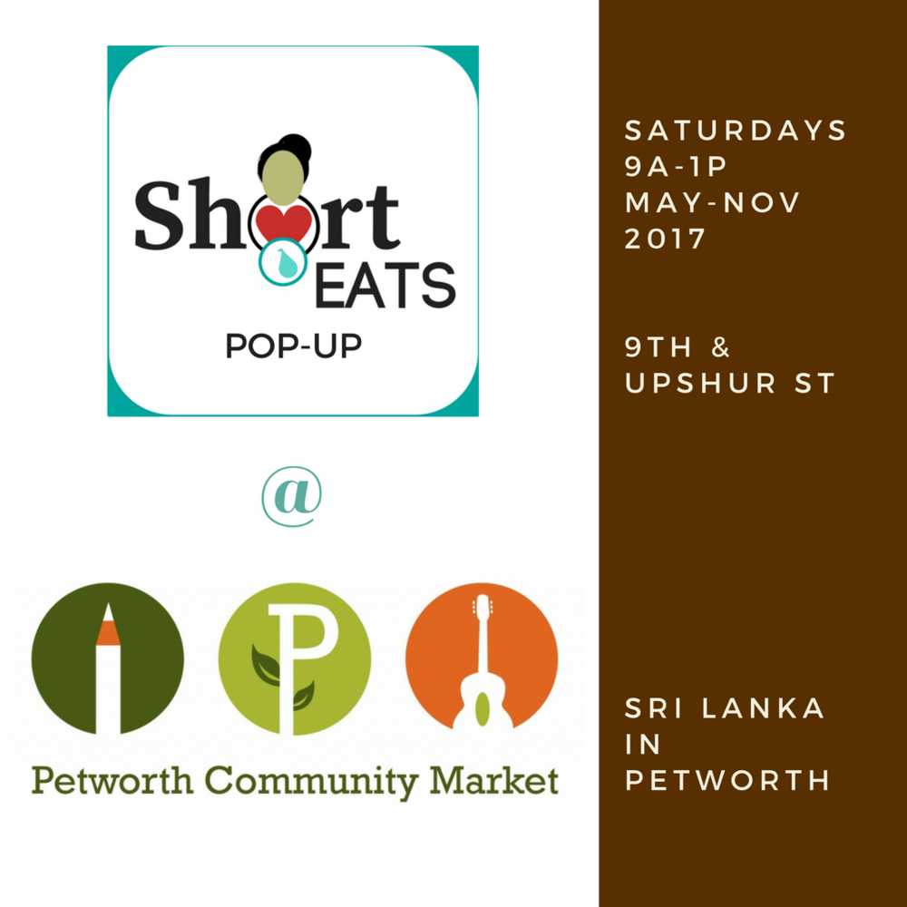 Roti Grill & Curry Bowls @ Petworth Community Market Saturdays 9a-1p, May-Nov 2017